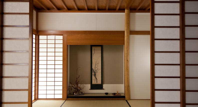 Japanese room - form and space in harmony