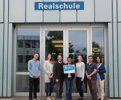 BoriS-SIEGEL für die Realschule Rutesheim