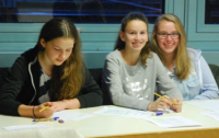 Die Jurorinnen der Lese-AG