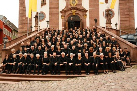 Kirchenchor Heilig Kreuz und Kammerchor Cantemus! im Juli 2017