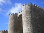 Prozession entlang der Stadtmauer