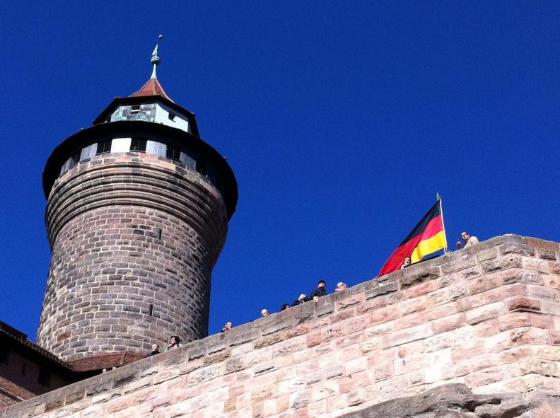 Nürnberg am Nationalfeiertag