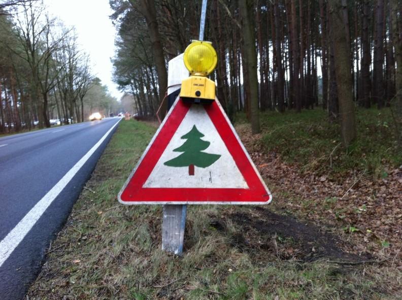 Achtung Weihnachtsbaum