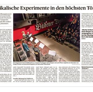 Konzertkritik Baden 14.Januar 2016