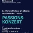 Beethoven, Christus am Ölberge 25.3.2018