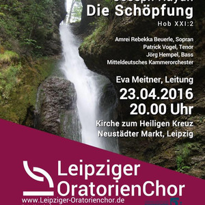 Schöpfung mit dem Leipziger Oratorienchor