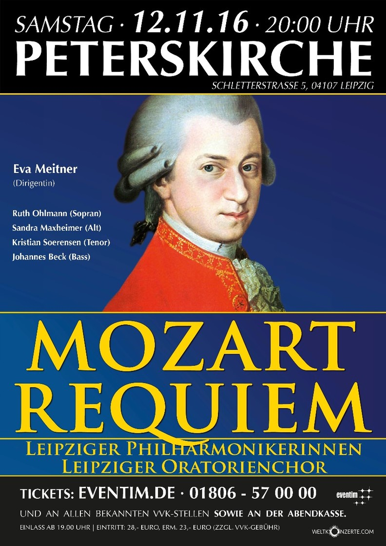 Mozart Requiem Leipzig