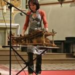 Neunkirchen Seelscheider Gospelnacht 2013 Kwa moyo, Ate Damm spielt auf dem Balafon