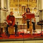 Neunkirchen Seelscheider Gospelnacht 2013 Kwa moyo, mit Jan-Philipp Tödte und Ate Damm