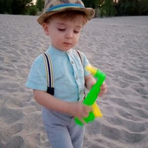 Micha's Enkel Alejo und das grüne Saxophon...