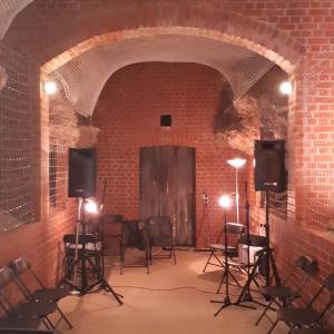 die wunderschöne Parkhöhlenbühne in Weimar