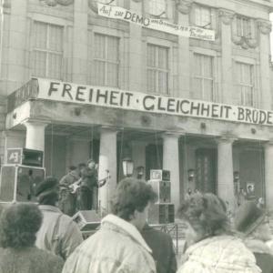 Hier noch ein Bild von dieser Demo vor 30 Jahren