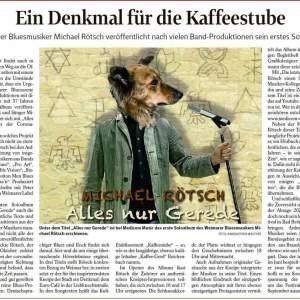 Thüringer Allgemeine und Landeszeitung über die CD...
