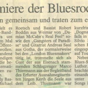 Dogma'n Eisenach - TA Artikel