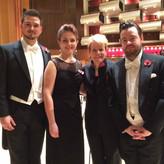 Mit Maestra Marin Alsop, Natalia Tanasii und Ben Johnson