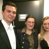Mit Sarah Connolly und Lucy Crowe