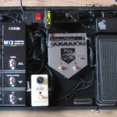 Pedalboard E-Gitarre