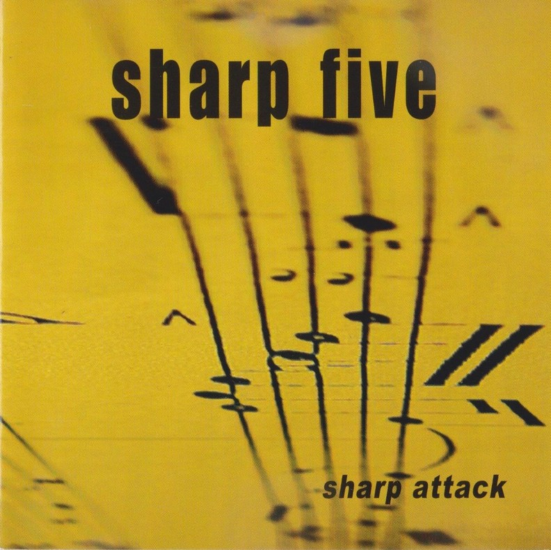 Sharp Five CD Cover