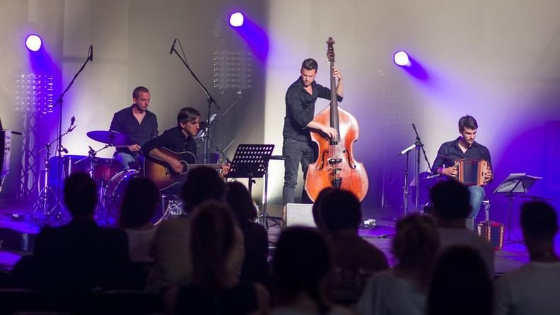 Quartett Robin Mark live in Krakau