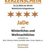 'Winterregen' und Stille Nacht-Bearbeitung in Erlangen