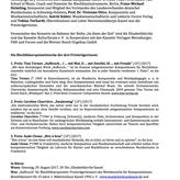 Pressemitteilung Wettbewerb 'Aufbruch' 2