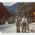 """1970 """"On the Road"""" mit Ronny. Mit nur einer Klampfe auf nach """"Venedig""""!"""