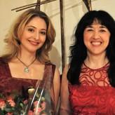 met pianiste Tatiana Kiourou