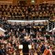 """Beim Dirigat der Uraufführung von Fabian Zeitlers """"Ode an das Leben"""" mit den Ensembles des Beethoven-Gymnasiums im Kammermusiksaal der Philharmonie am 8. März 2020 - drei Tage vor dem Corona-Lockdown"""