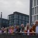 Mit dem Wilmersdorfer Kammerchor vor der OpenAir-Probe am Futurium nahe des Hauptbahnhofs