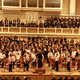 Jubiläumskonzert der Beethoven-Schule im Konzerthaus - Applaus nach dem 100. Psalm von Vaughan Williams