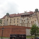 Blick auf einen Seitenflügel des Wawel