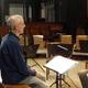 Bei der Solo-Probe für Dido und Aeneas