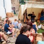 Auf dem EuroBean-Festival 2017 auf Schloss Rochsburg
