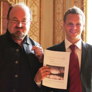 Simon & Ernst bei der Uraufführung auf Schloß Neubeuern am 11.10.2014