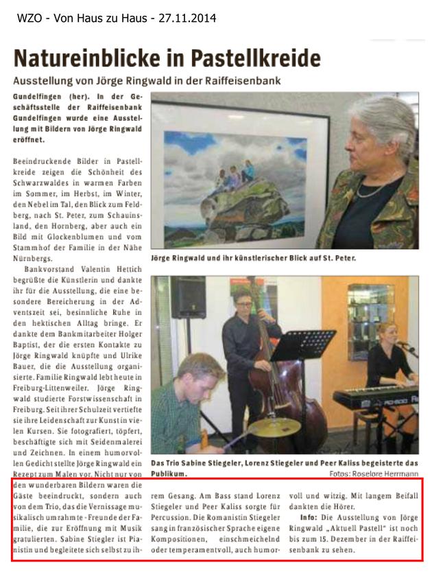 WZO - Von Haus zu Haus - 27.11.2014