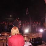 Das Publikum von der Bühne gesehen