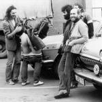 1984...Frachthof macht Rast...auf Parkplatz in Dresden