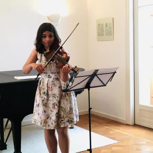 Franciska Hajdu beim Rendezvous-Konzert im Sophie Drinker Institut Bremen