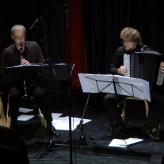 """Concert """"Zvokotok"""" (Zavod SPLOH), with Luka Juhart, 12/12/2015, Španski borci, Ljubljana"""