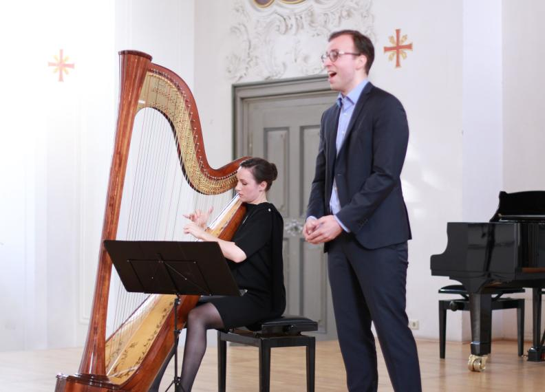 Duo Frank - Bariton und Harfe
