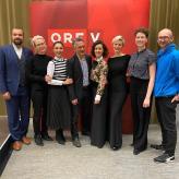Tito-Team im ORF Funkhaus Dornbirn, Österreich 2020