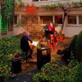 Adventsmusik mit Mario Mammone, tco event + Sparkasse Siegen, Altenzentrum Freudenberg 2020