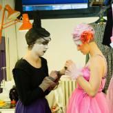 "Backstage Titania in ""Ein Sommernachtstraum"" HMTM Hannover 2015"