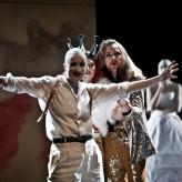 """Sophia Körber als Amor in """"L´incoronazione di Poppea"""" HMTM Hannover 2012"""