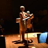 "Sophia Körber als Niemand in ""Mannequin"" Hannover UA 2017, Fotograf: Farhad Ilaghi Hosseini"