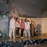 Aristocats 2003 in der Rolle der Duchesse (weiße Katze)