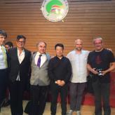 China 2016 mit Zoran Rakic, Herbert Scheibenreif, Wang, Raimondas Sviackevicius, Boris Lenko