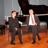 mit Christian Meyer und René Staar im Arnold Schönberg Center