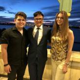 mit aleksandar Jovancic und Aleksandra Dragosavac in Harbin(China)