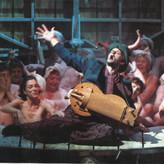 """als Welscher Spielmann in der """"Bernauerin"""" an den Carl-Orff-Festspielen München 2002"""